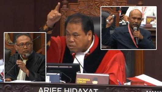 Potong Pertanyaan Hakim, BW Diancam Diusir dari Ruang Sidang Sengketa Pilpres
