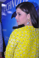 Mannara Chopra Looks Cute in Yellow Salwar Suit ~  Exclusive 04.JPG