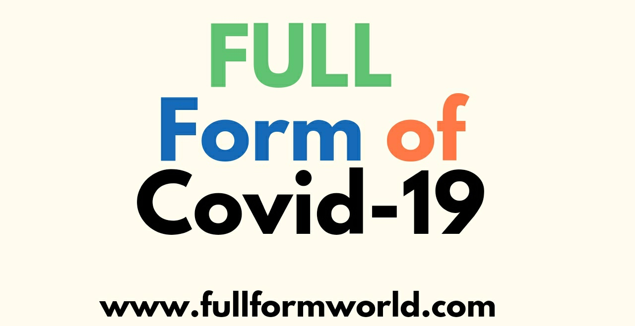 full form of covid 19
