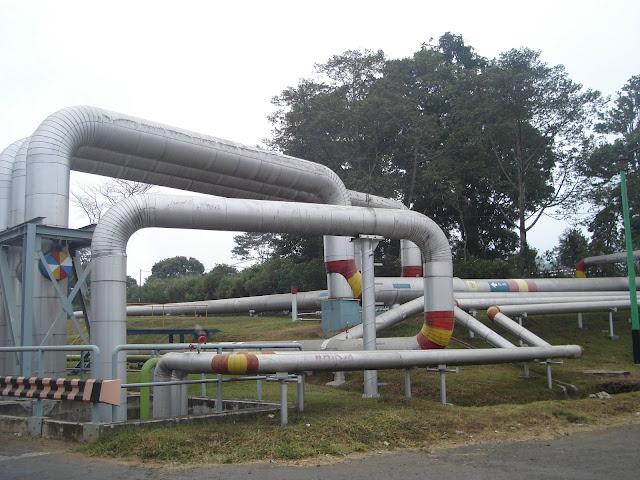 pipa distribusi uap panas bumi- pipa loop