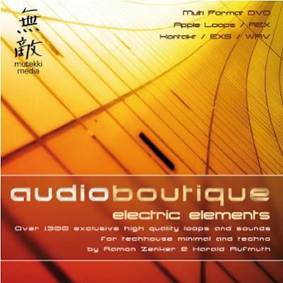 Mutekki Media – Audio Boutique Electric Elements (WAV,Apple Loops,Rex files,EXS-24 and Kontakt)