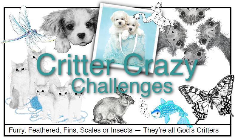 Critter Crazy CHALLENGE BLOG