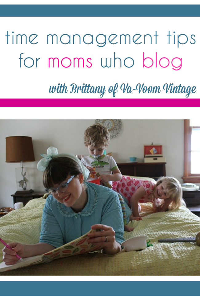 time management and productivity for moms who blog
