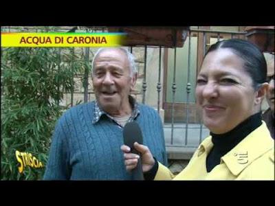 Stefania Petix a Caronia per il problema mai risolto dell'acqua non potabile e fangosa