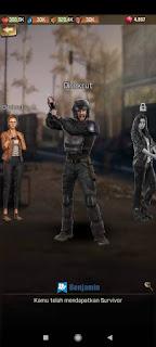 Cara Menambah karakter di Game The Walking Dead Survivors