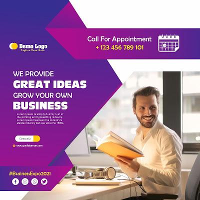 Membuat brosur bisnis online