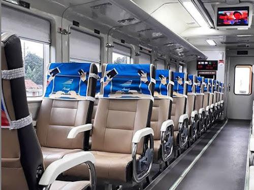 Harga tiket kereta api Natal tahun baru 2019