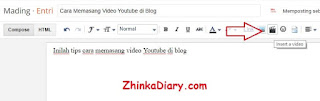 Cara pasang video Youtube di Blog yang benar