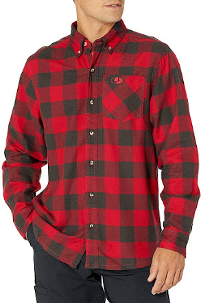 Men's Red Plaid Flannel Shirts