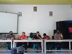 Babinsa 1012-06/ Bambulung Hadiri Bimtek Pokja Pendataan Relawan SDGs Desa Pinang Tunggal