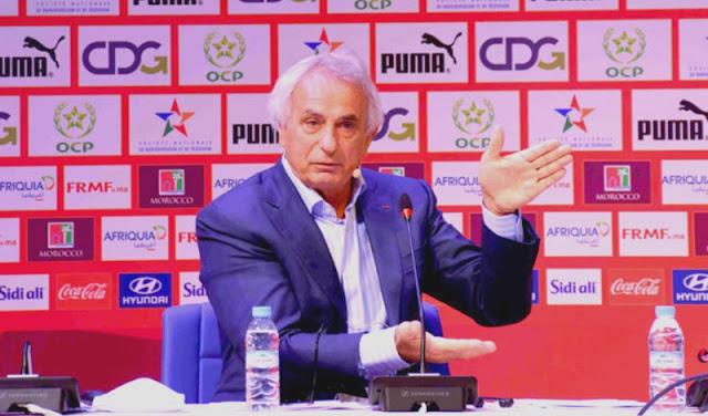 هاليلوزيتش: بناء المنتخب الوطني قد يكتمل في مارس المقبل.. وسيتنافس بقوة افريقيًا ودولياً