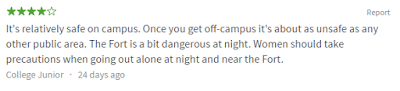 knoxville university not safe at night