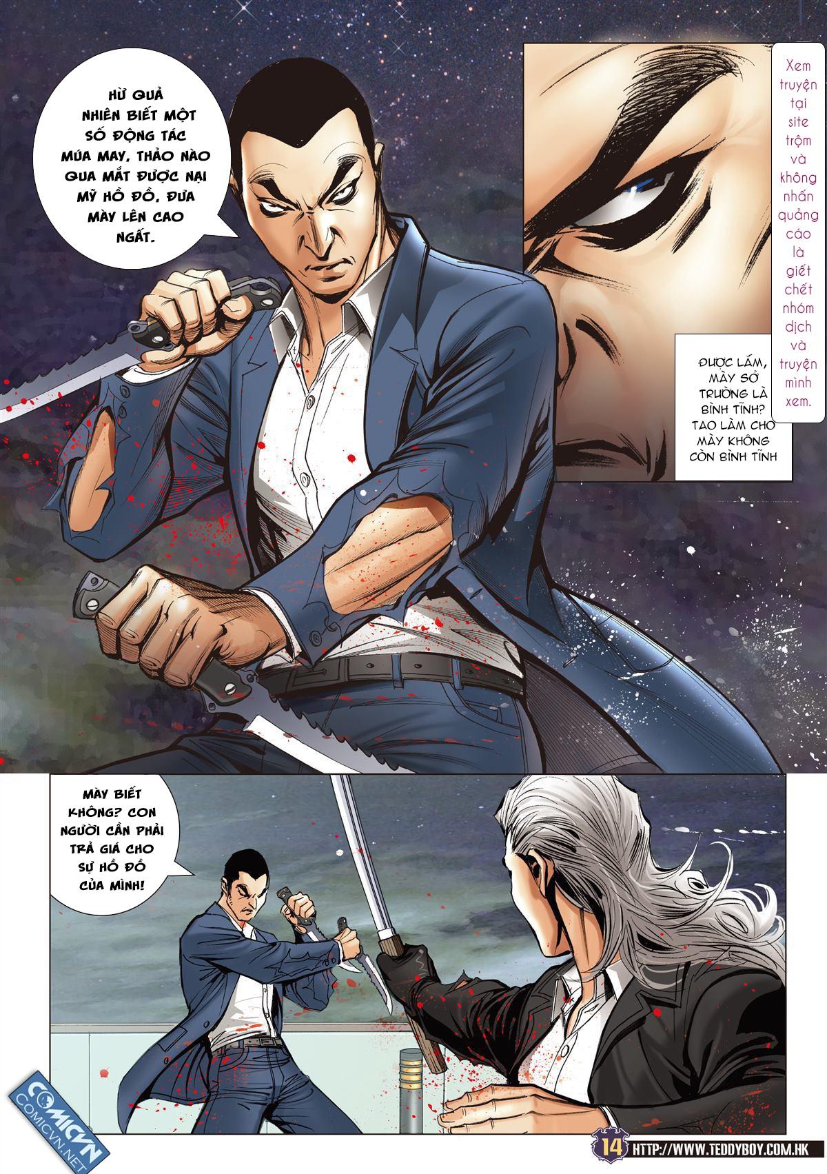 Người Trong Giang Hồ chapter 2078: tranh bảng xếp hạng trang 12