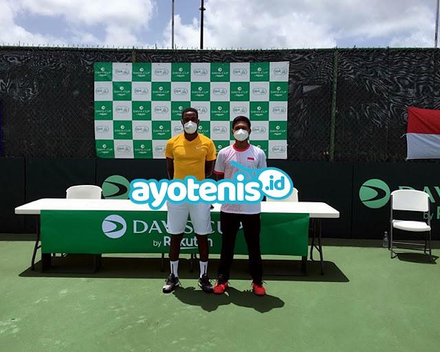 Davis Cup: Gugun petik pelajaran berharga setelah berlaga di Barbados