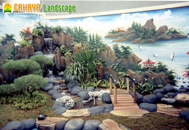Tukang Dekorasi Kolam Tebing Relif 3D Air Mancur Sidoarjo