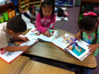small group reading