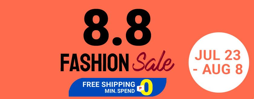 up to 60% off at Shopee 8.8 sale