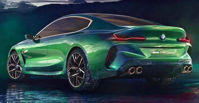 BMWの高性能4ドアクーペを示唆する「M8グランクーペ」のコンセプトを発表!BMW 8シリーズ