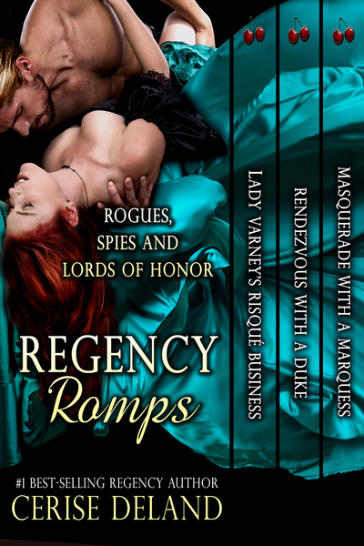 Regency Romps cover