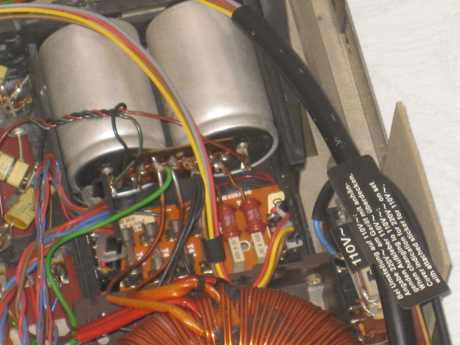 Telefunken Ta 350 service manual