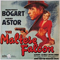 Poster for the film adaptation of Hammett's The Maltese Falcon