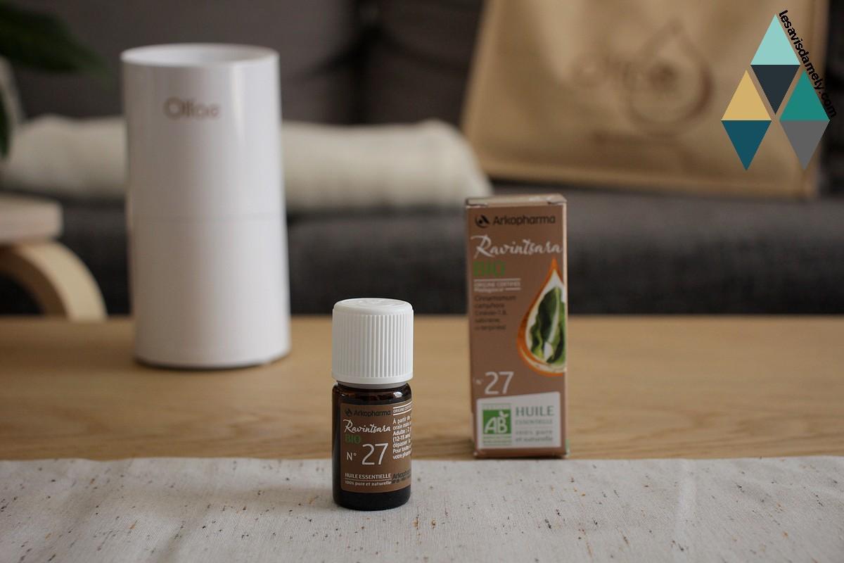 avis huile essentielle ravintsara bio arkopharma