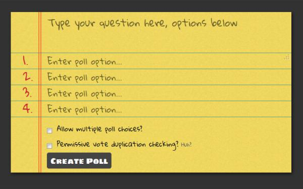 Best Voting Apps StrawPoll