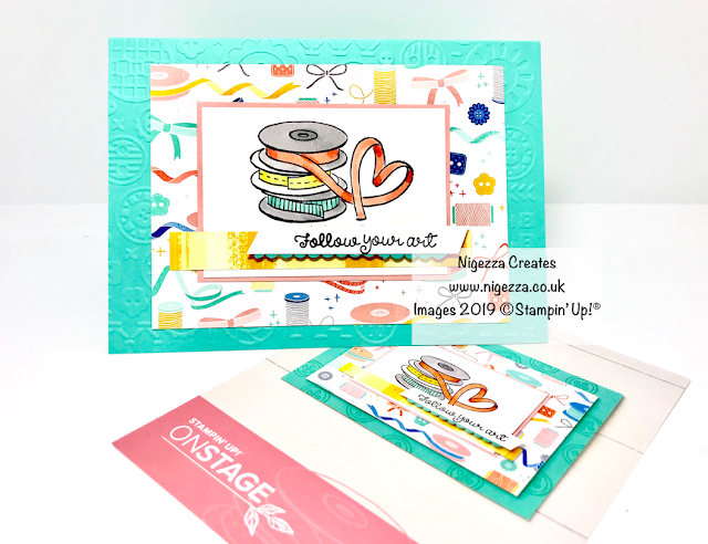 Nigezza Creates Stampin' Up! Follow Your Art