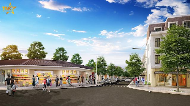Chợ truyền thống dự án TNR Star Nam Sách