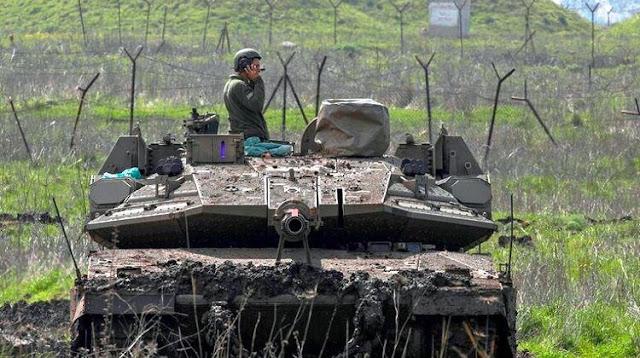Tank tempur Merkava IV Israel