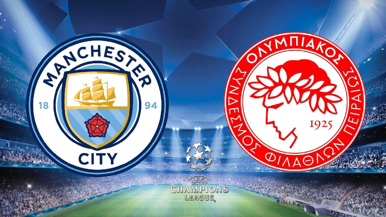 بث مباشر مباراة مانشستر سيتي واوليمبياكوس