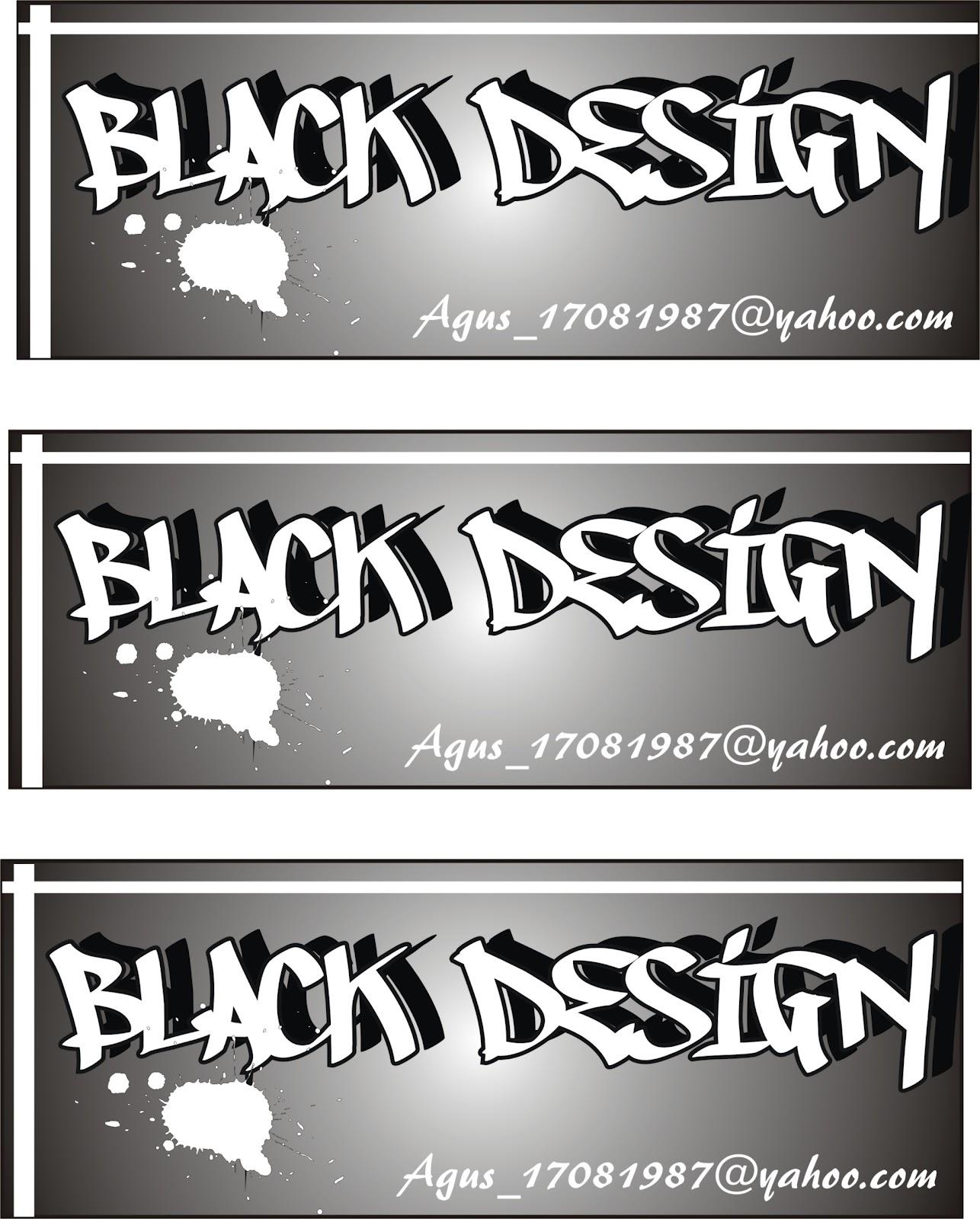 Contoh Gambar Desain Stiker Sederhana