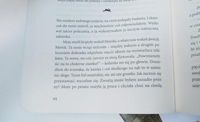 Fragment książki Michała Biardy - Królik w lunaparku