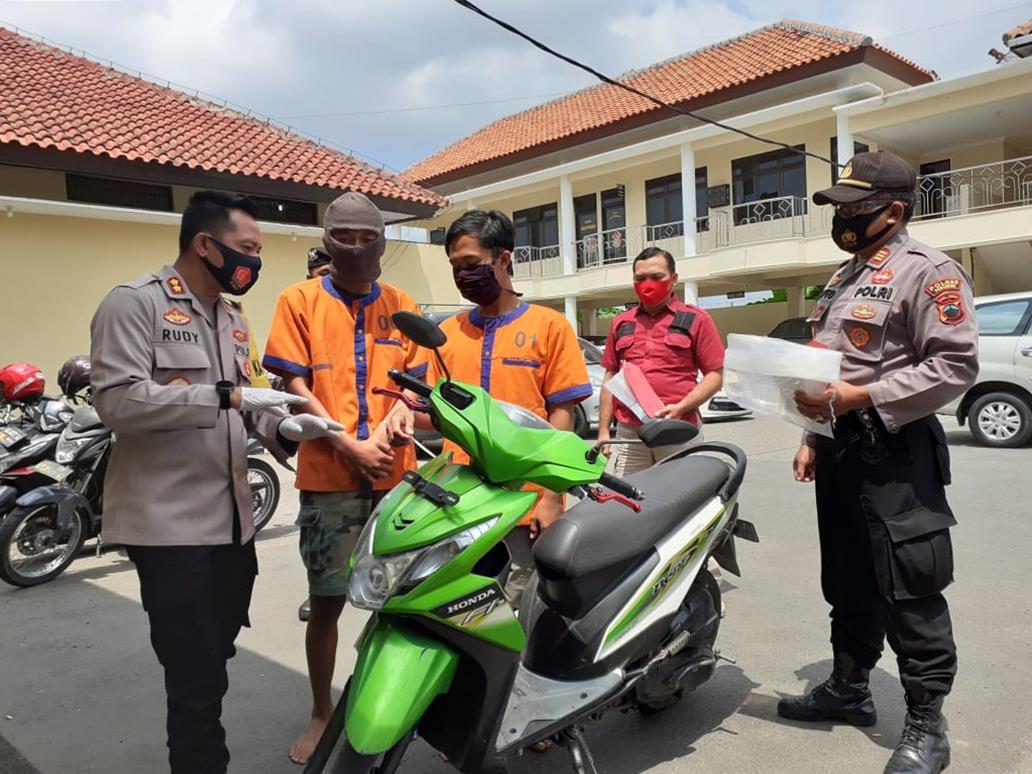 Polisi Tangkap Dua Pelaku Penjambretan di Jalan Cinta Kebumen