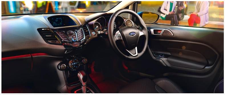 Spesifikasi Ford New Fiesta - Interior