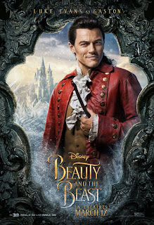 Beauty and the Beast (2017) Poster Luke Evans