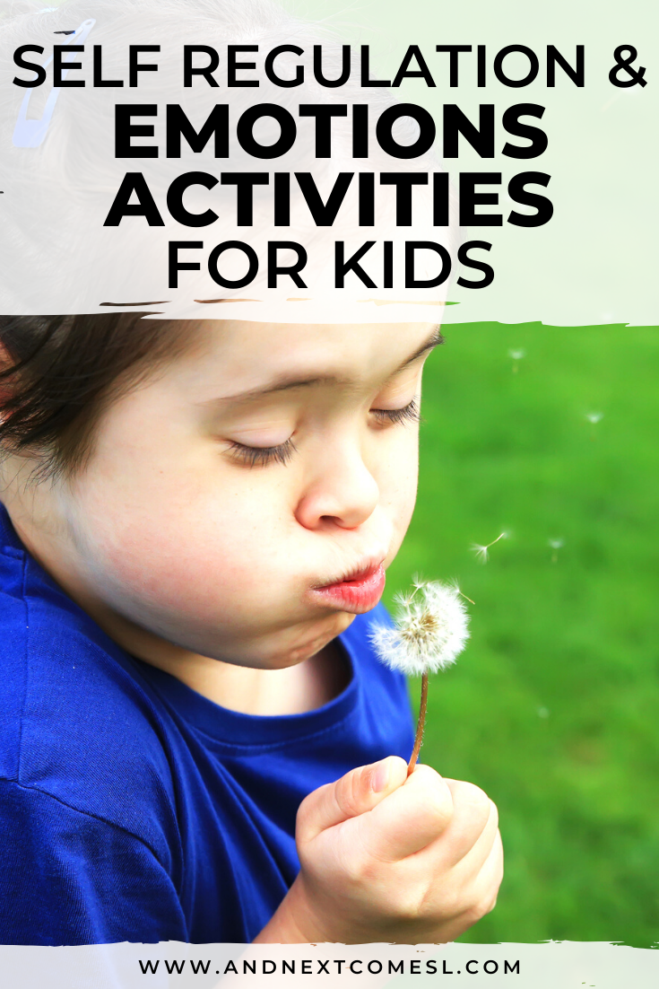 Self regulation activities for kids and emotions activities for toddlers and preschoolers