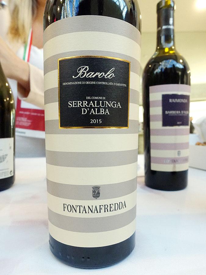 Fontanafredda Serralunga d'Alba Barolo 2015 (91 pts)
