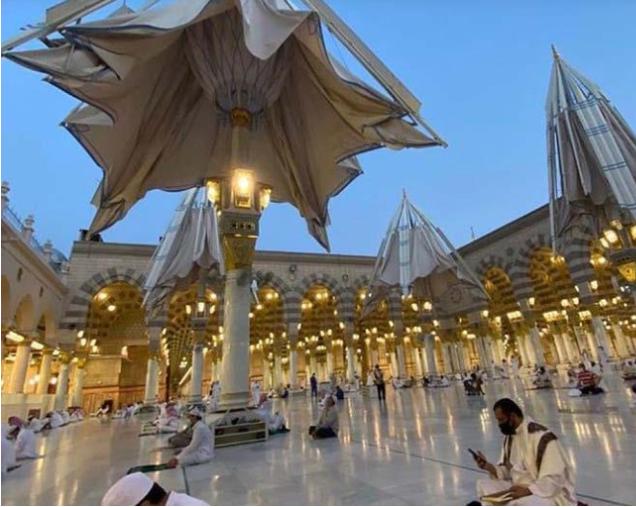 Alhamdulillah .. 93 Ribu Jamaah Sholat Di Masjid Nabawi Di Hari Pertama Dibuka Kembali