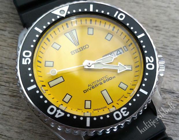 'hobiku Hobimu ' Yellow Mellow 200m Dive Watch - Seiko