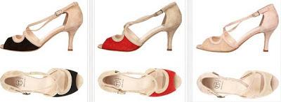 Sandalis con ligero tacón y estilo Chic