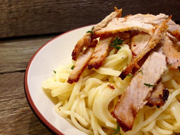 Спагети със свинско