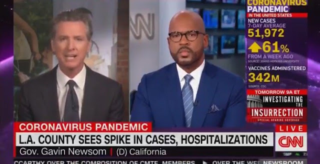 Gavin Newsom Compares Unvaccinated People to Murderous Drunk Drivers