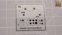 Hawker Hurricane MkIIc, 1/32 Fly models 32012 -  inbox review - PE parts