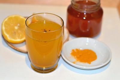Resultado de imagen para Té frío de cúrcuma y miel