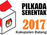 Quick Count / Hitung Cepat Pilbup Kabupaten Batang 2017 , Hasil Hingga Saat Ini