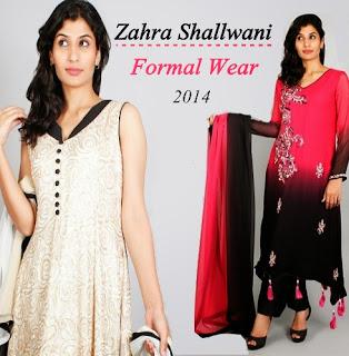 Zahra Shallwani Formal Party Wear 2014