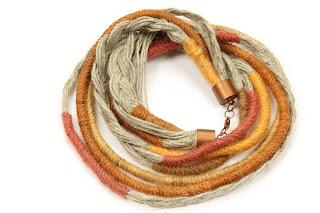 Linen jewelry