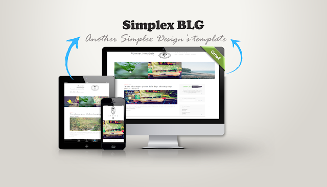 Simplex BLG - Clean and Modern Blogger Template