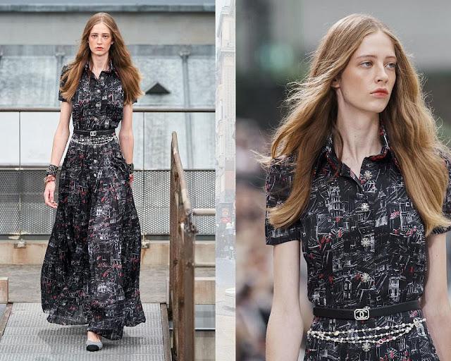Chanel показ моды весна-лето 2020 9
